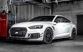Tratament special pentru Audi RS5 Sportback din partea ABT: 530 CP și 3.6 secunde pentru sprintul 0-100 km/h