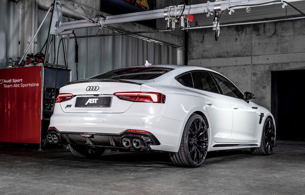 Tratament special pentru Audi RS5 Sportback din partea ABT: 530 CP și 3.6 secunde pentru sprintul 0-100 km/h - Poza 2