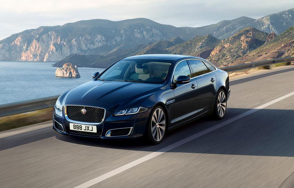 Final de carieră pentru actualul Jaguar XJ: înlocuitorul vârfului de gamă debutează în 2020 doar cu versiuni electrice - Poza 1