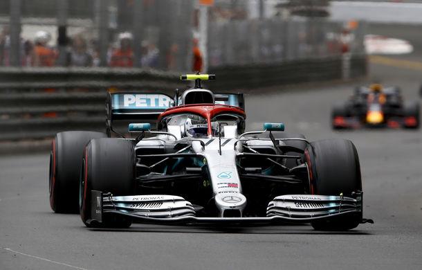 """Mercedes admite că a """"provocat"""" incidentul Bottas - Verstappen de la boxe la Monaco: """"Am avut o problemă la oprirea lui Hamilton"""" - Poza 1"""