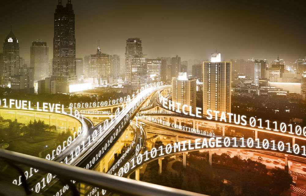 Proiect pilot: mașinile Volvo, Mercedes-Benz, BMW și Ford vor comunica între ele informații despre condițiile din trafic - Poza 1