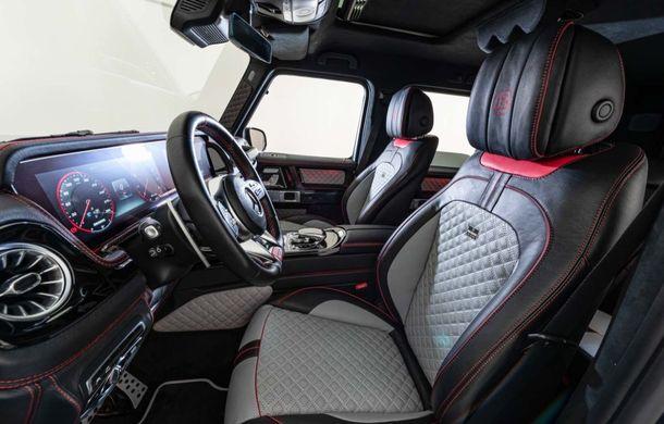 Mercedes-AMG G63 dezvoltă 800 CP mulțumită tunerului Brabus: casa germană propune și două pachete pentru caroserie - Poza 7