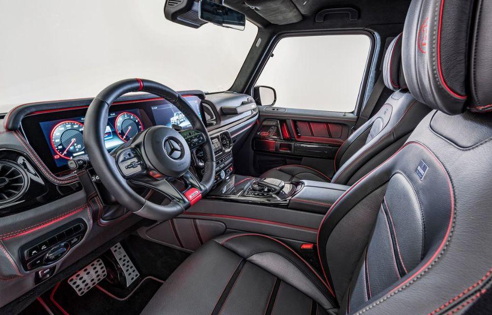 Mercedes-AMG G63 dezvoltă 800 CP mulțumită tunerului Brabus: casa germană propune și două pachete pentru caroserie - Poza 13
