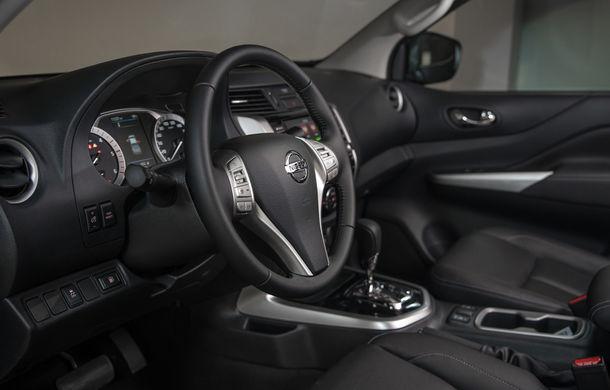 Nissan Navara primește o serie de îmbunătățiri: motor diesel de 2.3 litri mai performant și sistem de infotainment NissanConnect - Poza 8