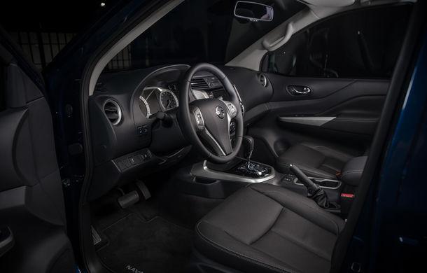 Nissan Navara primește o serie de îmbunătățiri: motor diesel de 2.3 litri mai performant și sistem de infotainment NissanConnect - Poza 11
