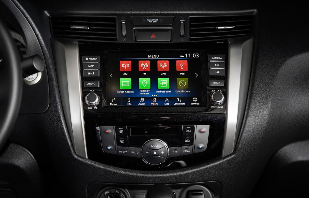 Nissan Navara primește o serie de îmbunătățiri: motor diesel de 2.3 litri mai performant și sistem de infotainment NissanConnect - Poza 7