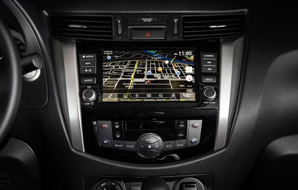 Nissan Navara primește o serie de îmbunătățiri: motor diesel de 2.3 litri mai performant și sistem de infotainment NissanConnect - Poza 9