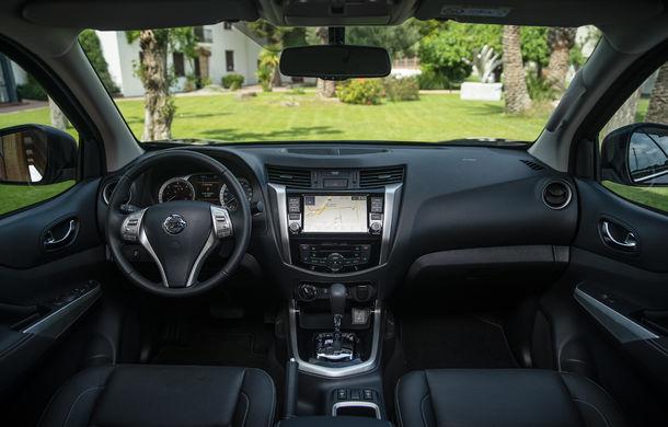 Nissan Navara primește o serie de îmbunătățiri: motor diesel de 2.3 litri mai performant și sistem de infotainment NissanConnect - Poza 10