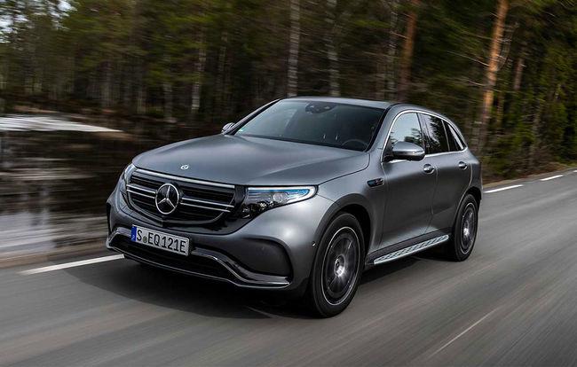 Test drive Mercedes-Benz EQC