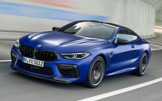BMW a prezentat noile M8 Coupe și M8 Cabrio: tracțiune integrală M xDrive și 625 CP pentru versiunile Competition