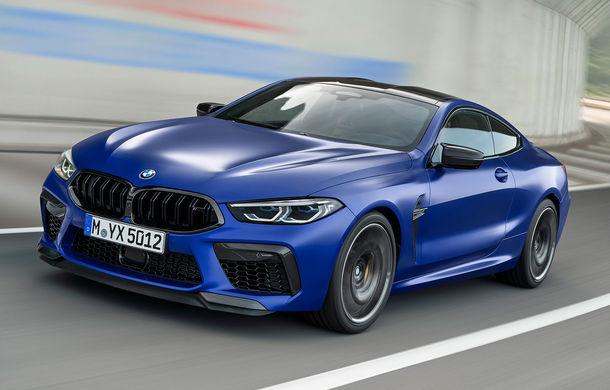 BMW a prezentat noile M8 Coupe și M8 Cabrio: tracțiune integrală M xDrive și 625 CP pentru versiunile Competition - Poza 1