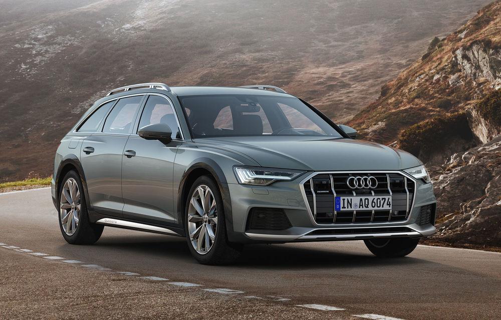 Audi prezintă noul A6 Allroad: protecții suplimentare pentru caroserie, o gardă la sol mai generoasă și motoare diesel de până la 349 CP - Poza 1