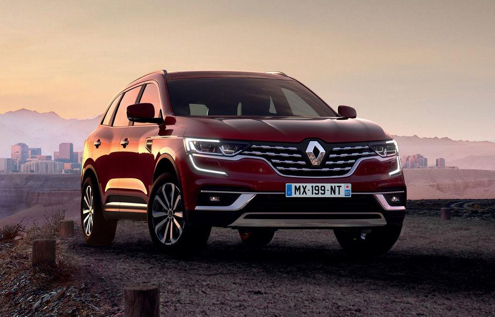 Renault Koleos facelift, poze și detalii oficiale: modificări estetice minore și două motoare diesel noi - Poza 1