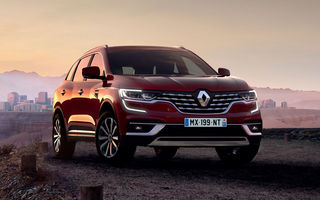Renault Koleos facelift, poze și detalii oficiale: modificări estetice minore și două motoare diesel noi