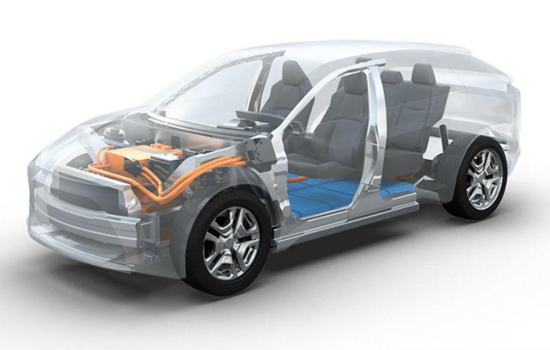 Colaborare: Toyota și Subaru vor dezvolta un SUV electric compact pe o platformă comună - Poza 1