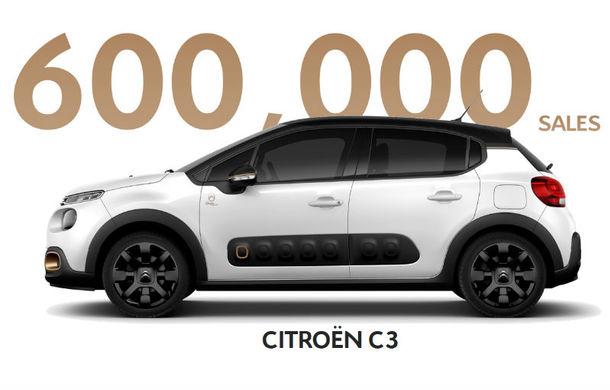 Citroen a vândut 600.000 de exemplare C3 în doi ani și jumătate: 110.000 de comenzi de la începutul lui 2019 - Poza 1