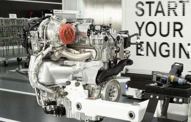 Mercedes-AMG prezintă cel mai puternic motor cu 4 cilindri din istorie: 2.0 litri și 421 de cai putere - Poza 1