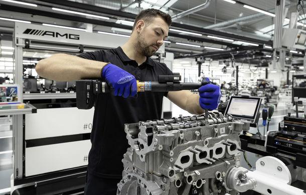 Mercedes-AMG prezintă cel mai puternic motor cu 4 cilindri din istorie: 2.0 litri și 421 de cai putere - Poza 5