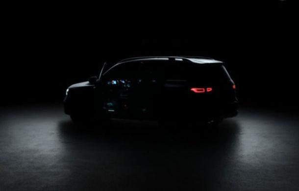 UPDATE: Un nou teaser video cu viitorul Mercedes-Benz GLB: SUV-ul cu 7 locuri are premiera mondială în 11 iunie - Poza 1