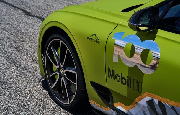 Primele imagini cu viitorul Bentley Continental GT care va concura în cursa de la Pikes Peak: britanicii vor să stabilească un record pentru mașinile de serie - Poza 7
