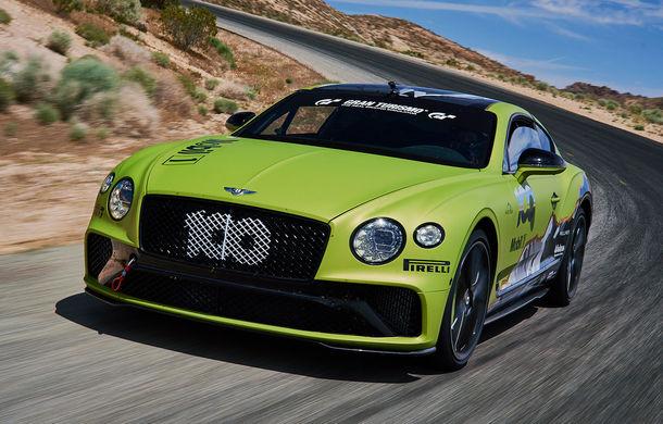 Primele imagini cu viitorul Bentley Continental GT care va concura în cursa de la Pikes Peak: britanicii vor să stabilească un record pentru mașinile de serie - Poza 1