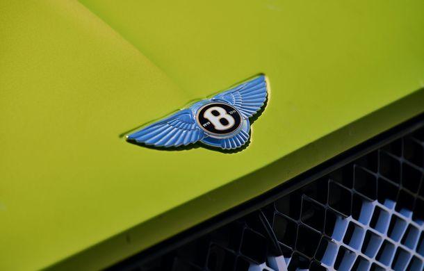 Primele imagini cu viitorul Bentley Continental GT care va concura în cursa de la Pikes Peak: britanicii vor să stabilească un record pentru mașinile de serie - Poza 6