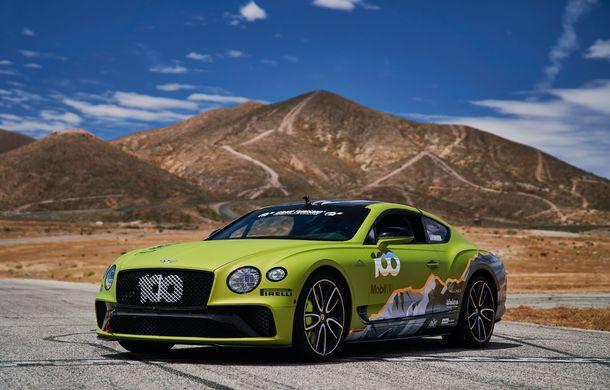 Primele imagini cu viitorul Bentley Continental GT care va concura în cursa de la Pikes Peak: britanicii vor să stabilească un record pentru mașinile de serie - Poza 2