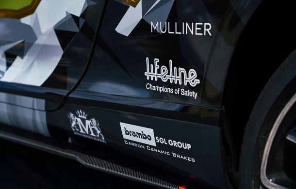 Primele imagini cu viitorul Bentley Continental GT care va concura în cursa de la Pikes Peak: britanicii vor să stabilească un record pentru mașinile de serie - Poza 8