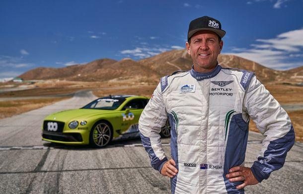 Primele imagini cu viitorul Bentley Continental GT care va concura în cursa de la Pikes Peak: britanicii vor să stabilească un record pentru mașinile de serie - Poza 5