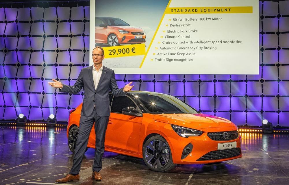 Am văzut pe viu noul Opel Corsa Electric. 5 lucruri pe care trebuie să le știi despre electrica Opel - Poza 15