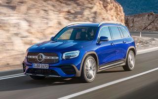 Mercedes-Benz GLB, poze și detalii oficiale: noul SUV compact preia motorizările lui Clasa A și poate fi comandat și în versiune cu 7 locuri