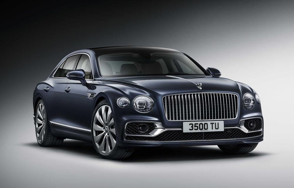 Bentley a prezentat noul Flying Spur: motor W12 de 635 CP și direcție integrală - Poza 1