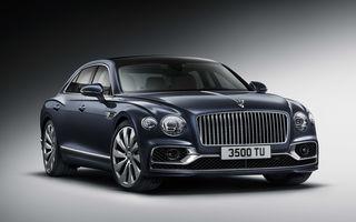 Bentley a prezentat noul Flying Spur: motor W12 de 635 CP și direcție integrală
