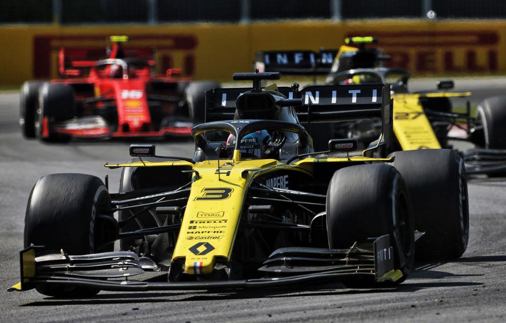 """Ricciardo, optimist că Renault poate progresa în Franța după performanța din Canada: """"Viteza pe liniile drepte este mult mai bună"""" - Poza 1"""