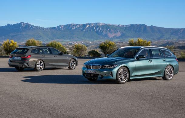 Noua generație BMW Seria 3 Touring: break-ul primește în premieră versiune plug-in hybrid de 252 CP și un portbagaj de 500 de litri - Poza 1