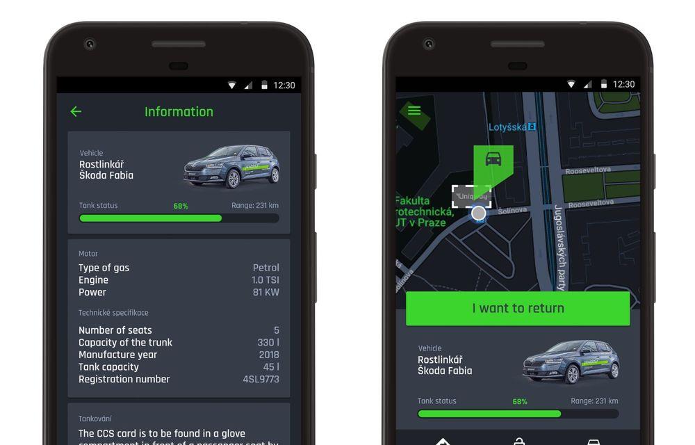 Skoda a lansat o platformă de car-sharing pentru studenți: proiectul Uniqway va fi testat inițial în Praga - Poza 4