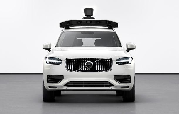 Volvo prezintă o versiune autonomă pentru XC90: SUV-ul a fost echipat cu sisteme autonome dezvoltate de Uber - Poza 3