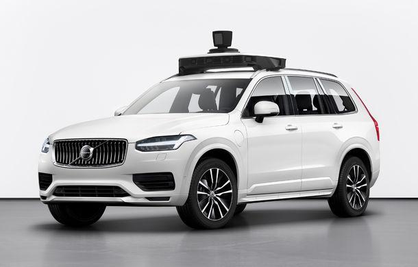 Volvo prezintă o versiune autonomă pentru XC90: SUV-ul a fost echipat cu sisteme autonome dezvoltate de Uber - Poza 2