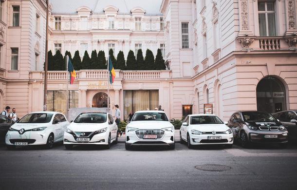 #ElectricRomania: informațiile tehnice ale celor 5 mașini electrice din caravană - Poza 1