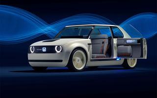 Noi detalii despre modelul electric de oraș Honda e: baterie de 35.5 kWh cu autonomie de 200 de kilometri și tracțiune spate