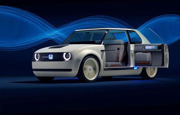 Noi detalii despre modelul electric de oraș Honda e: baterie de 35.5 kWh cu autonomie de 200 de kilometri și tracțiune spate - Poza 1