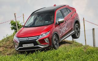 Galerie foto: Mitsubishi Off Road Day: clienții au testat abilitățile SUV-urilor japoneze pe teren accidentat