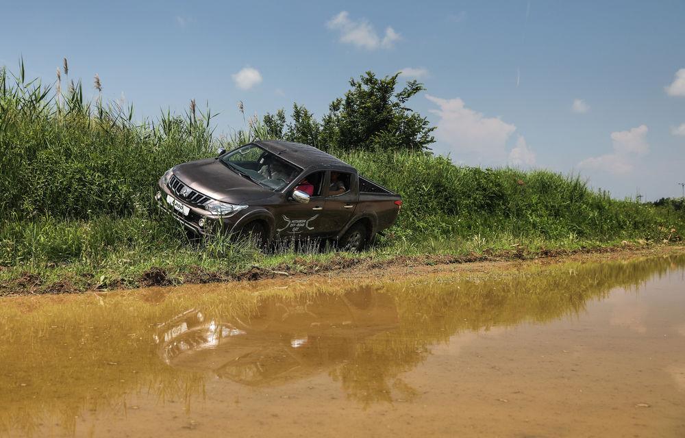 Galerie foto: Mitsubishi Off Road Day: clienții au testat abilitățile SUV-urilor japoneze pe teren accidentat - Poza 8