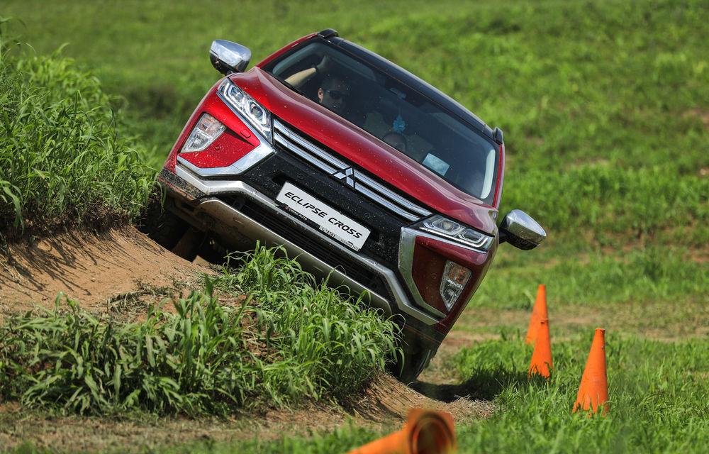 Galerie foto: Mitsubishi Off Road Day: clienții au testat abilitățile SUV-urilor japoneze pe teren accidentat - Poza 15