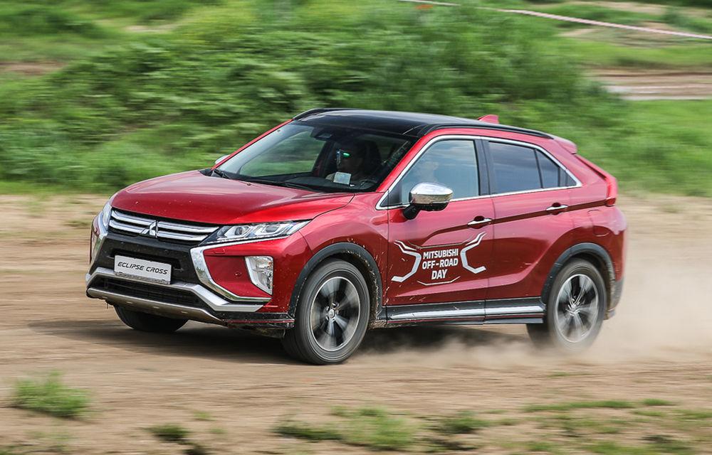 Galerie foto: Mitsubishi Off Road Day: clienții au testat abilitățile SUV-urilor japoneze pe teren accidentat - Poza 21