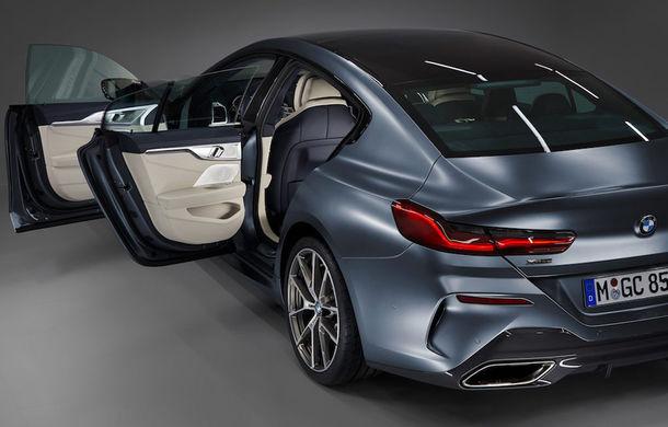 Primele imagini cu BMW Seria 8 Gran Coupe au apărut pe internet: noul rival al lui Mercedes-Benz CLS și Porsche Panamera va fi prezentat în iunie - Poza 3
