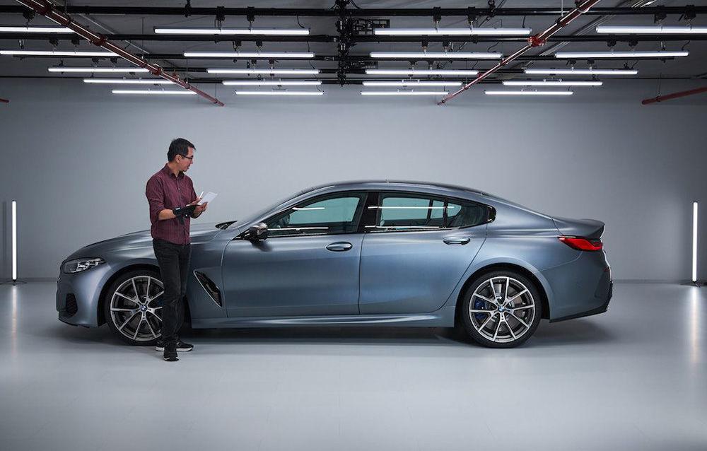 Primele imagini cu BMW Seria 8 Gran Coupe au apărut pe internet: noul rival al lui Mercedes-Benz CLS și Porsche Panamera va fi prezentat în iunie - Poza 2