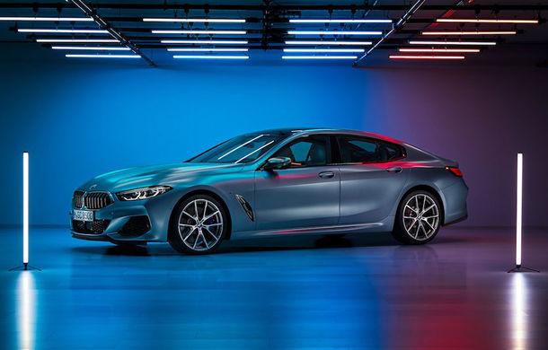 Primele imagini cu BMW Seria 8 Gran Coupe au apărut pe internet: noul rival al lui Mercedes-Benz CLS și Porsche Panamera va fi prezentat în iunie - Poza 1