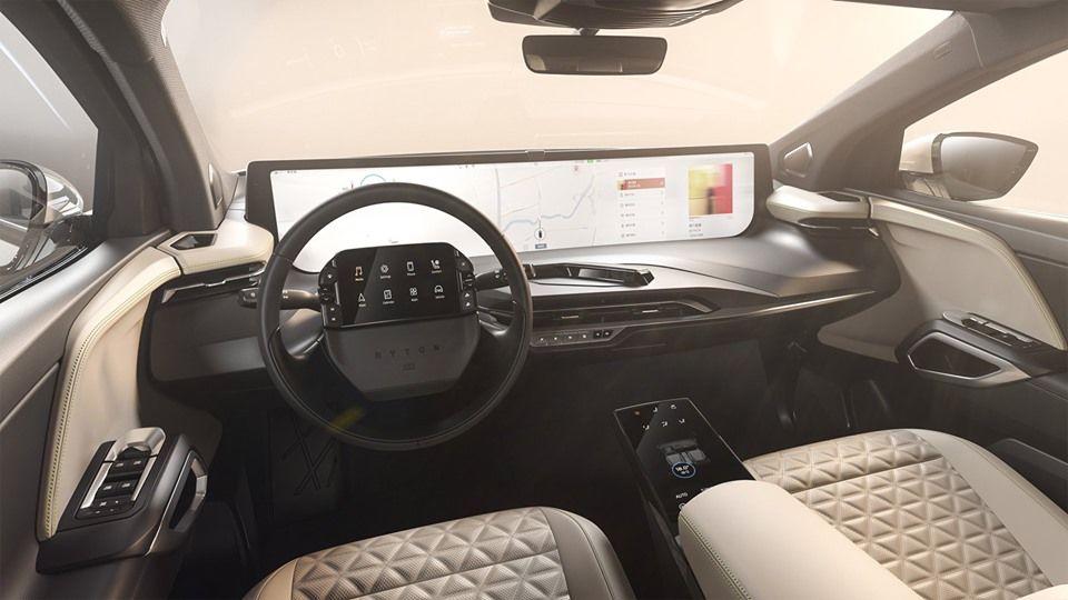 Primele imagini cu interiorul viitorului M-Byte: SUV-ul electric Byton va ajunge în Europa în 2020 - Poza 1