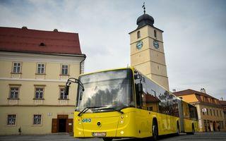 Wi-Fi gratuit în peste 100 de autobuze din Sibiu: parteneriat între primărie, Continental și Orange